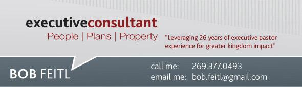 Bob Feitl Executive Consultant -
